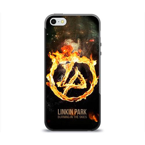 Чехол для Apple iPhone 5/5S силиконовый глянцевый Linkin Park от Всемайки