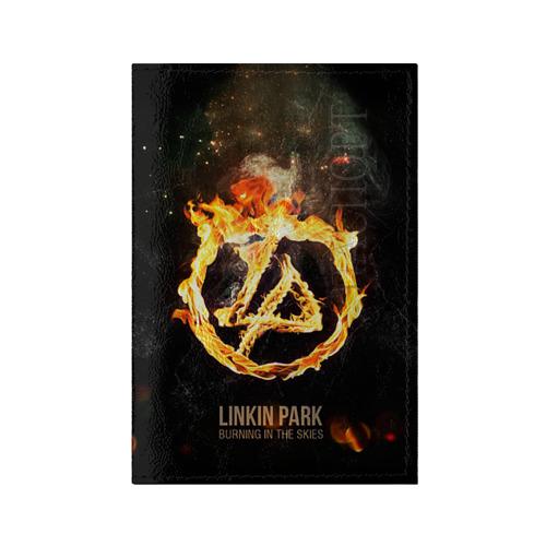 Обложка для паспорта глянцевая кожа Linkin Park от Всемайки