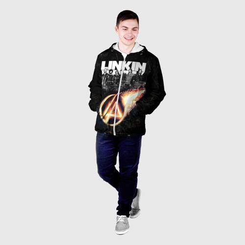 Мужская куртка 3D  Фото 03, Linkin Park