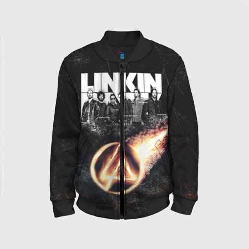 Детский бомбер 3D Linkin Park