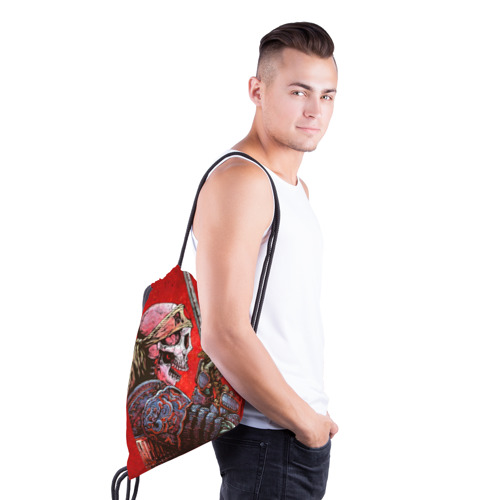Рюкзак-мешок 3D  Фото 03, Череп