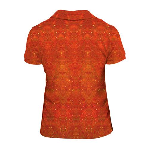 Женская рубашка поло 3D  Фото 02, Череп