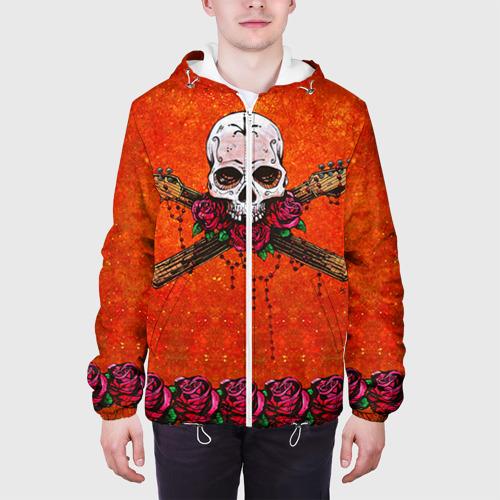 Мужская куртка 3D  Фото 04, Череп