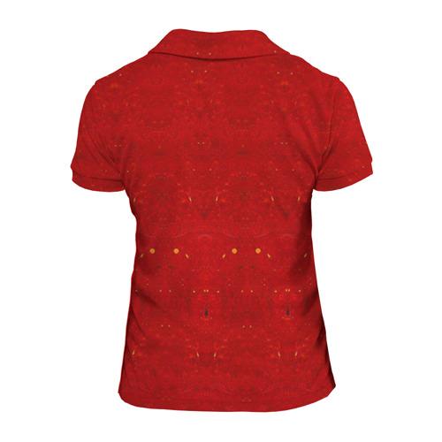 Женская рубашка поло 3D  Фото 02, Скелет