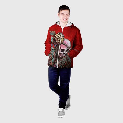 Мужская куртка 3D  Фото 03, Скелет
