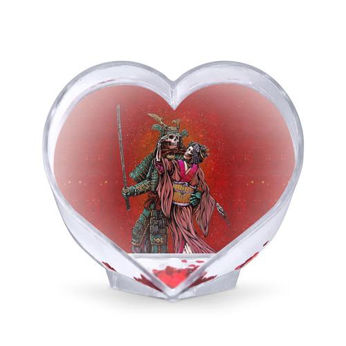 Сувенир Сердце Скелеты от Всемайки