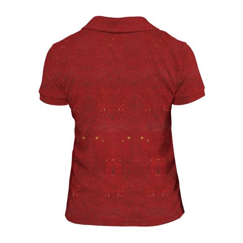 Женская рубашка поло 3D  Фото 02, Скелеты