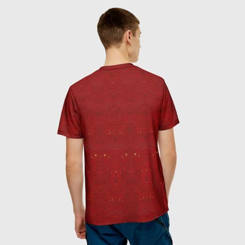 Мужская футболка 3D  Фото 02, Скелеты