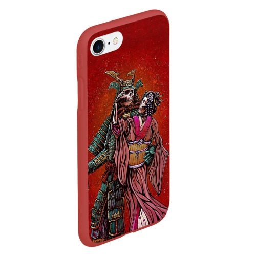Чехол для iPhone 7/8 матовый Скелеты Фото 01