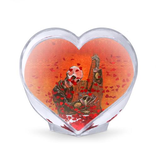 Сувенир Сердце  Фото 02, Скелет с гитарой