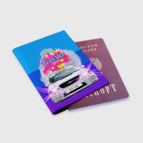 Обложка для паспорта матовая кожа  Фото 03, Subaru Forester Sti II M