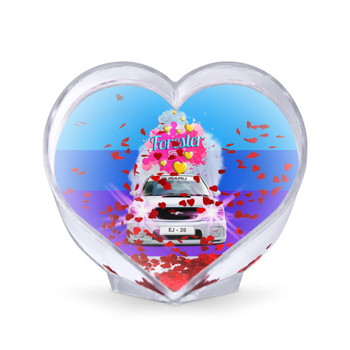 Сувенир Сердце  Фото 02, Subaru Forester Sti II M