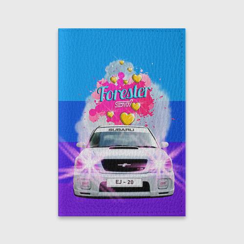 Обложка для паспорта матовая кожа  Фото 01, Subaru Forester Sti II M