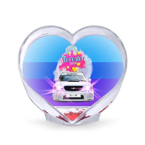 Сувенир Сердце  Фото 01, Subaru Forester Sti II M