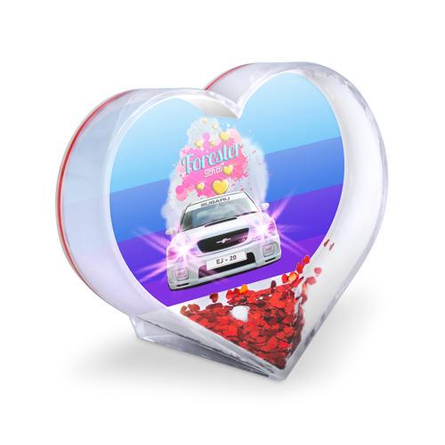 Сувенир Сердце  Фото 03, Subaru Forester Sti II M