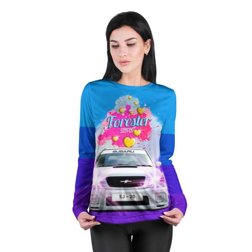 Женский лонгслив 3D для беременных  Фото 04, Subaru Forester Sti II M
