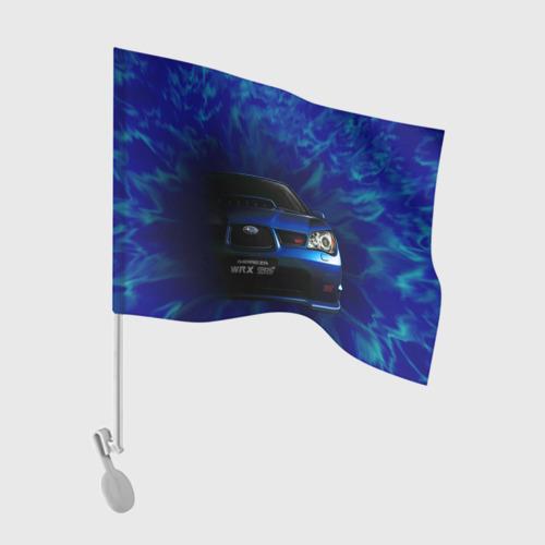 Флаг для автомобиля Subaru Фото 01