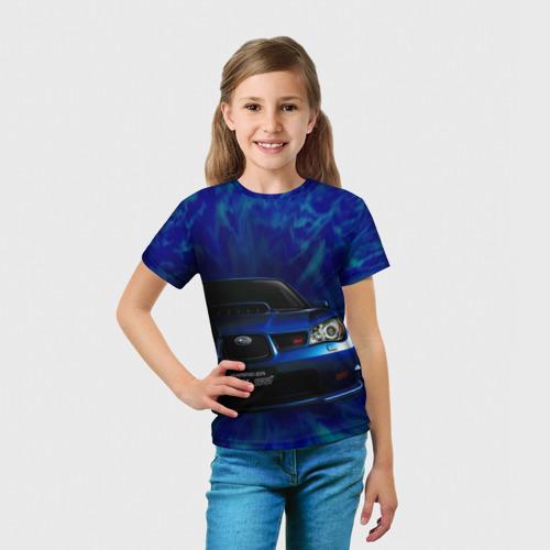 Детская футболка 3D Subaru Фото 01