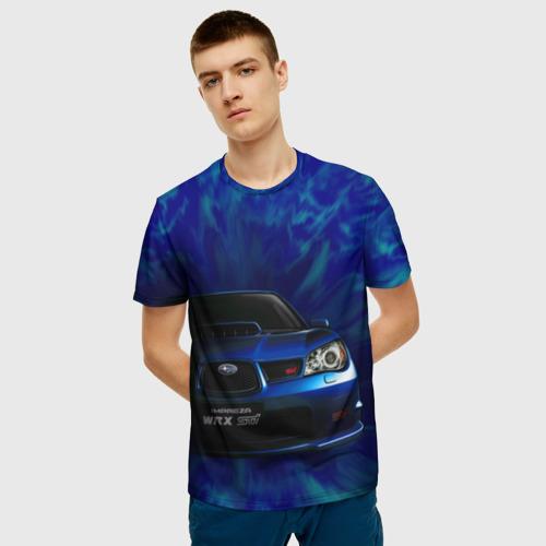 Мужская футболка 3D Subaru Фото 01