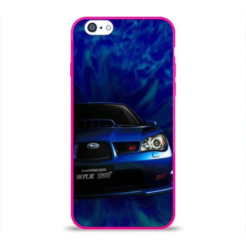 Чехол для Apple iPhone 6 силиконовый глянцевый Subaru Фото 01
