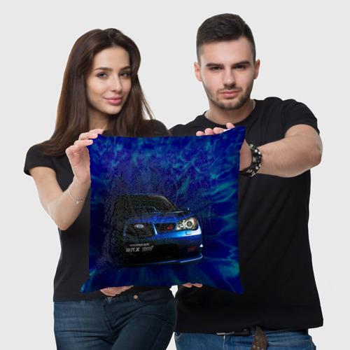 Подушка 3D Subaru Фото 01