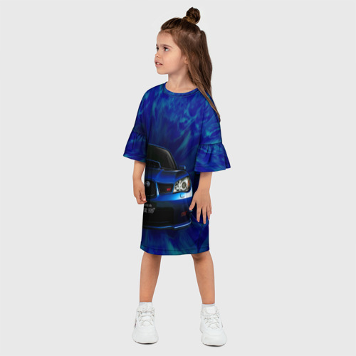 Детское платье 3D Subaru Фото 01