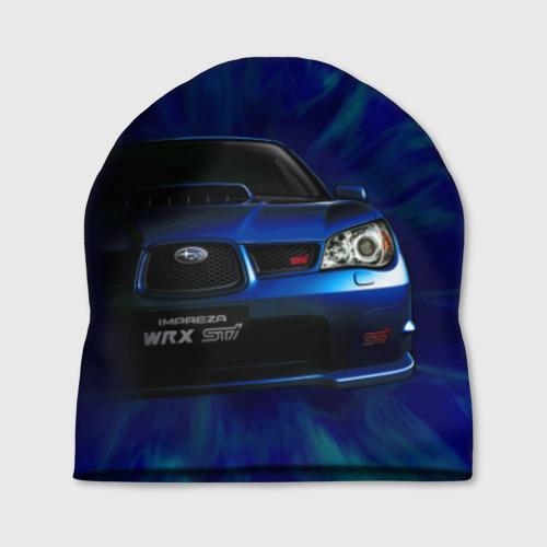 Шапка 3D Subaru Фото 01