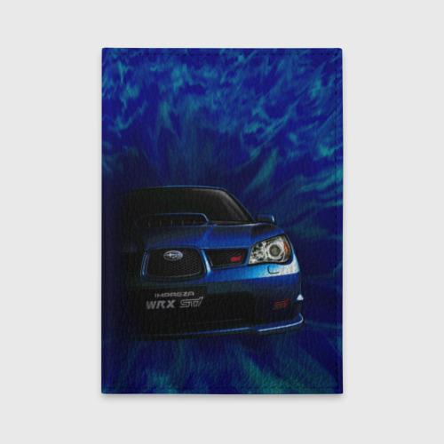 Обложка для автодокументов Subaru Фото 01