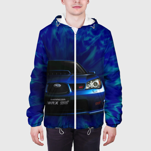 Мужская куртка 3D  Фото 04, Subaru