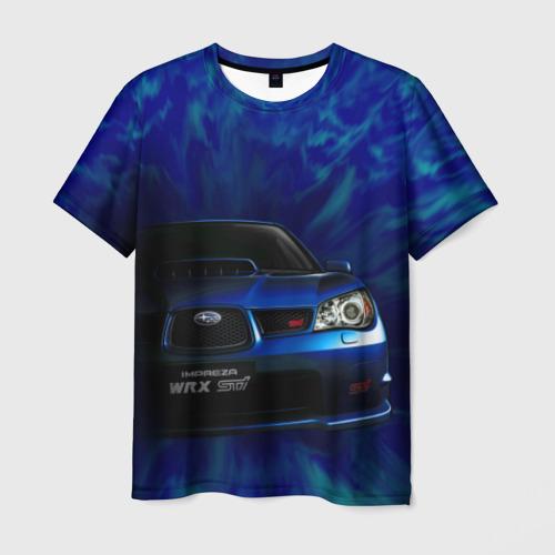 Мужская футболка 3D Subaru