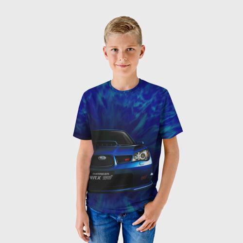 Детская футболка 3D Subaru