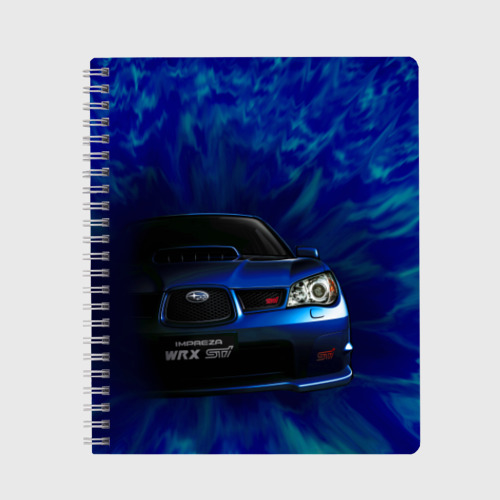 Тетрадь Subaru Фото 01