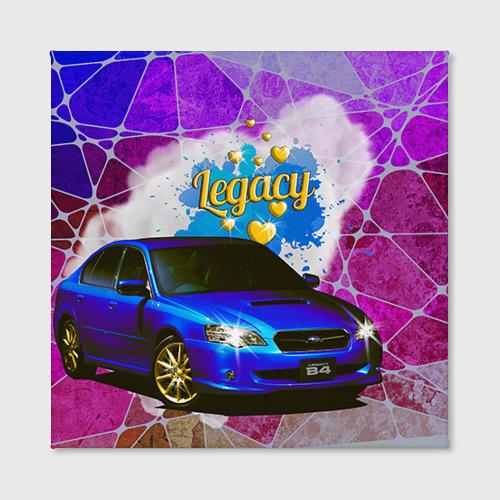 Холст квадратный  Фото 02, Subaru Legacy