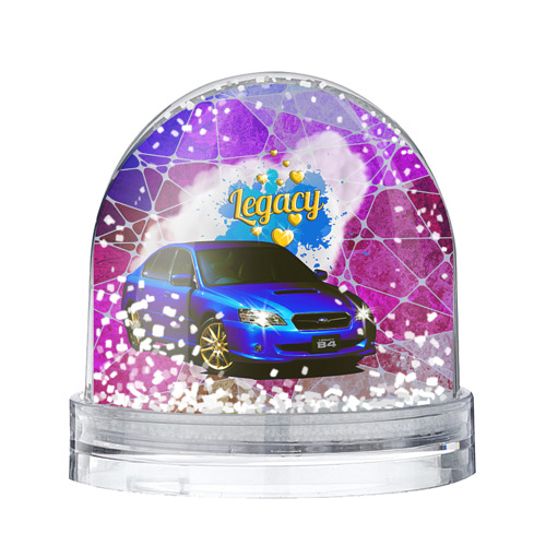 Водяной шар со снегом Subaru Legacy