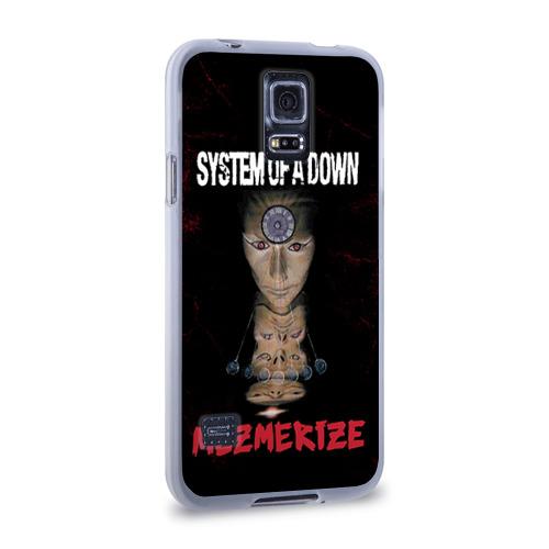 Чехол для Samsung Galaxy S5 силиконовый  Фото 02, System of a Down