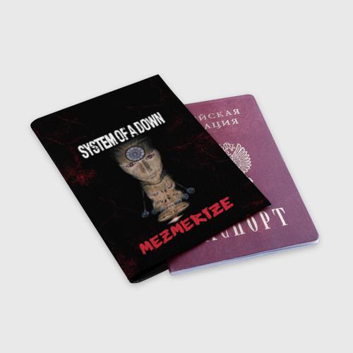 Обложка для паспорта матовая кожа  Фото 03, System of a Down