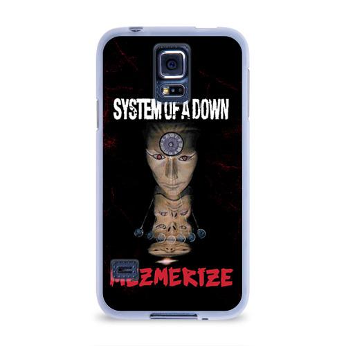 Чехол для Samsung Galaxy S5 силиконовый  Фото 01, System of a Down