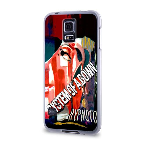 Чехол для Samsung Galaxy S5 силиконовый  Фото 03, System of a Down