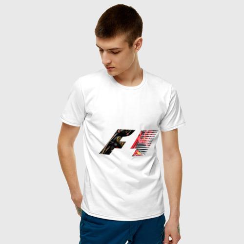 Мужская футболка хлопок Formula 1 Фото 01