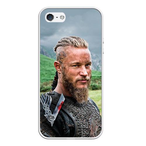 Чехол силиконовый для Телефон Apple iPhone 5/5S Рагнар Лодброк от Всемайки