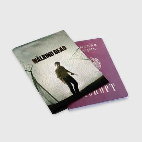Обложка для паспорта матовая кожа  Фото 03, The Walking Dead