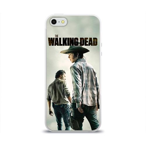 Чехол для Apple iPhone 5/5S силиконовый глянцевый  Фото 01, The Walking Dead