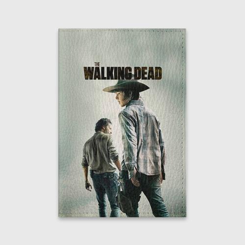 Обложка для паспорта матовая кожа  Фото 01, The Walking Dead
