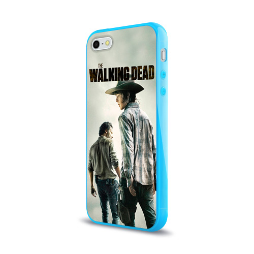 Чехол для Apple iPhone 5/5S силиконовый глянцевый  Фото 03, The Walking Dead