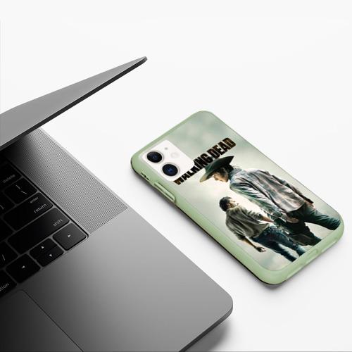 The Walking Dead (чехол для iphone 11 матовый) фото 4