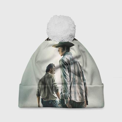Шапка 3D c помпоном The Walking Dead