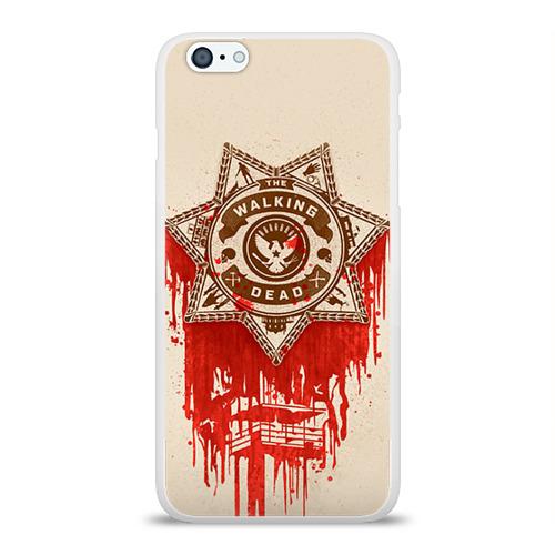 Чехол для Apple iPhone 6Plus/6SPlus силиконовый глянцевый The Walking Dead Фото 01