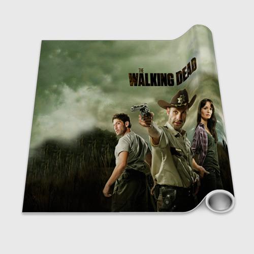 Бумага для упаковки 3D  Фото 02, The Walking Dead