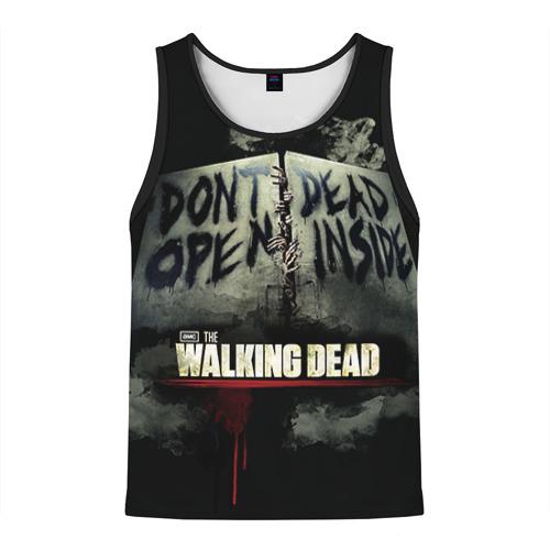 Мужская майка 3D The Walking Dead