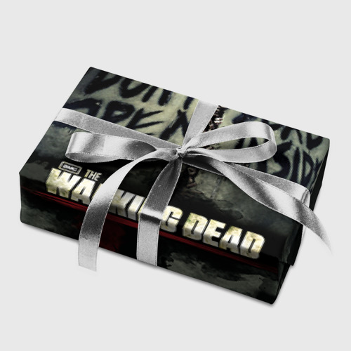 Бумага для упаковки 3D  Фото 05, The Walking Dead